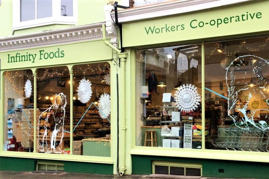 Infinity Foods Brighton is the first retailer to stock the Mooncup